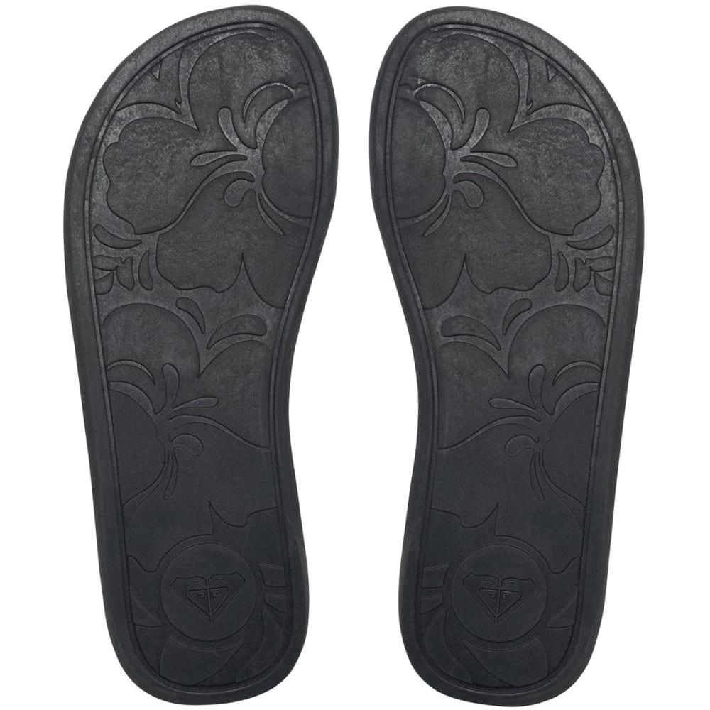 ROXY Women's Porto Flip Flops - BLACK
