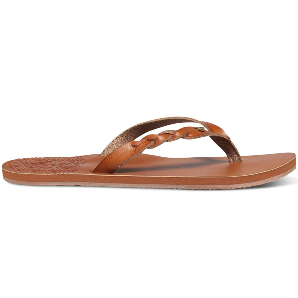 ROXY Women's Liza Sandals - BROWN