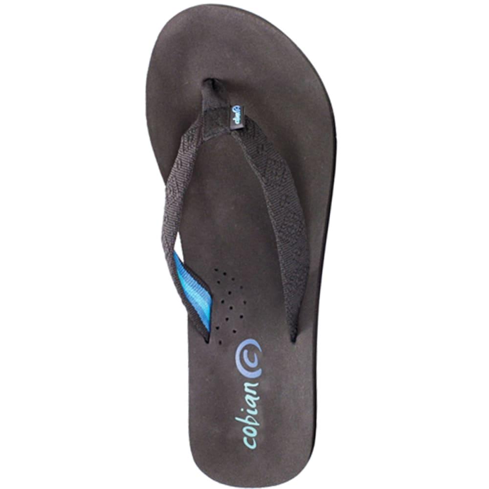 COBIAN Women's Beyond Bounce Sandals - BLACK