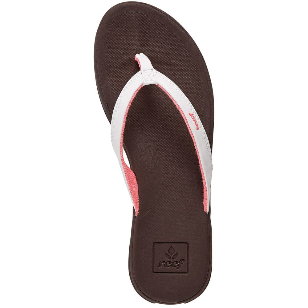 REEF Women's Rover Catch Flip Flops - BROWN