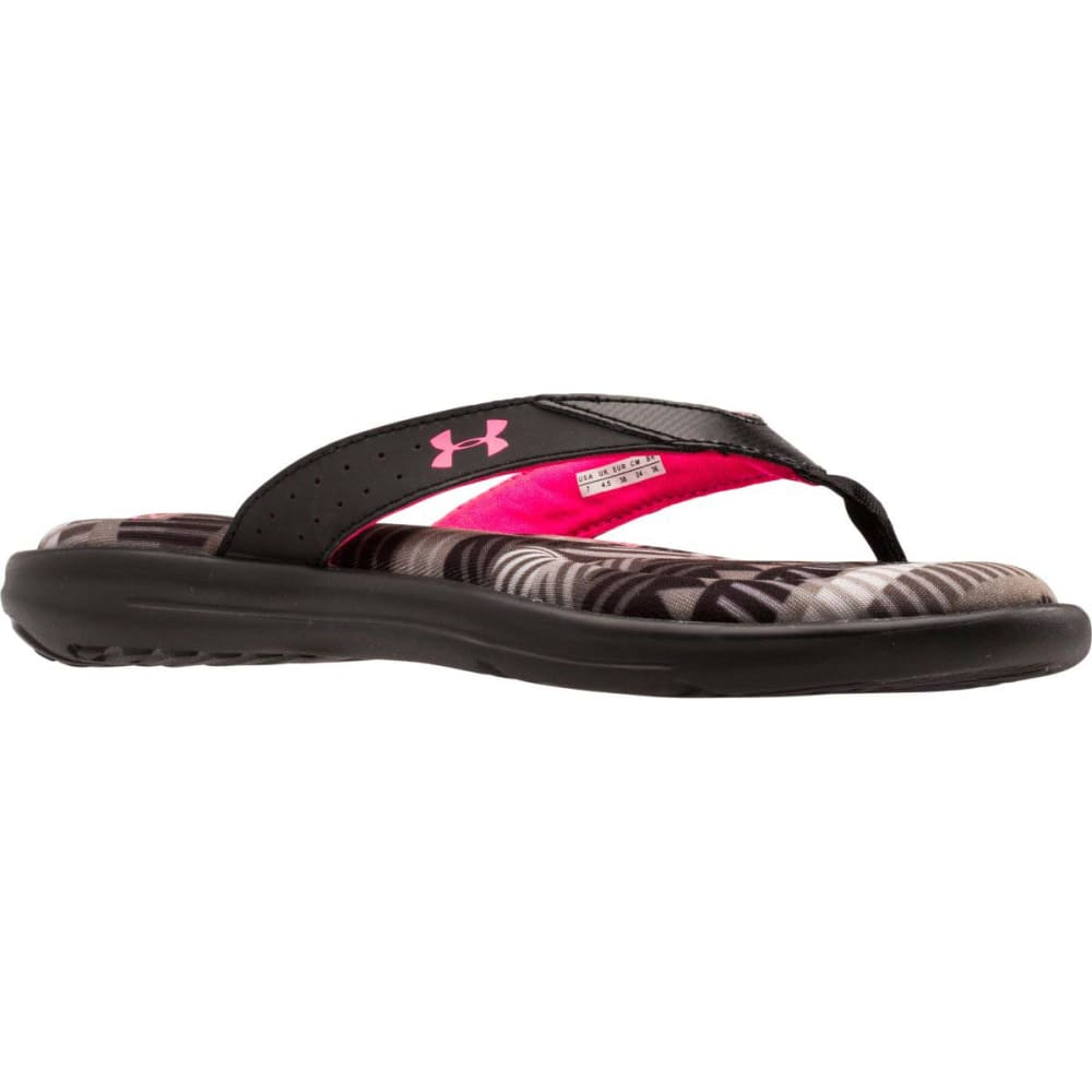 UNDER ARMOUR Women's Marbella IV Sandals - TROP BLK 1266412-001