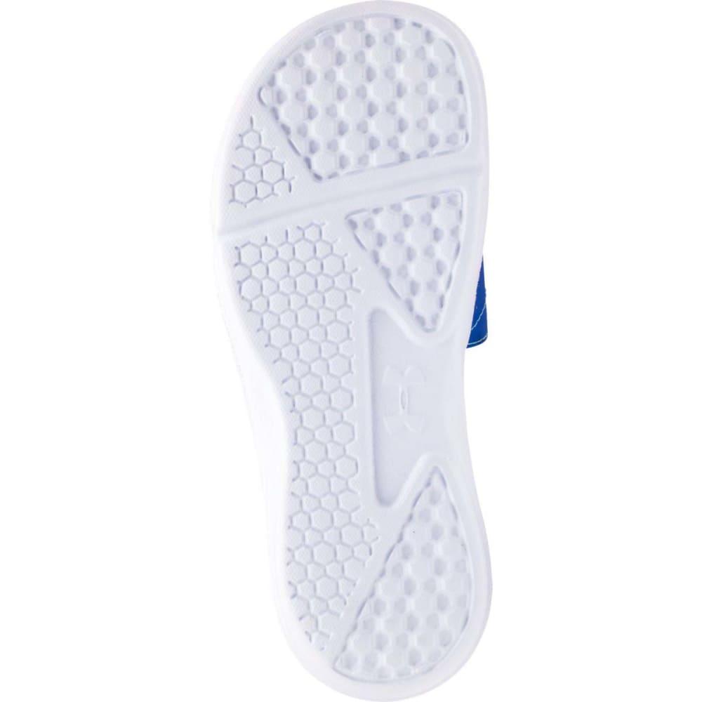 UNDER ARMOUR Women's Ignite VII Slide Sandals - TEAM ROYAL/ANTIFREEZ