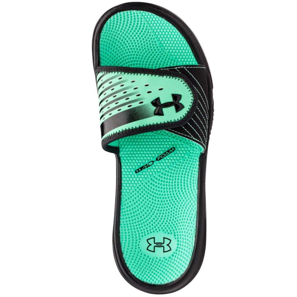 UNDER ARMOUR Women's Micro G® EV Sandals - BLACK