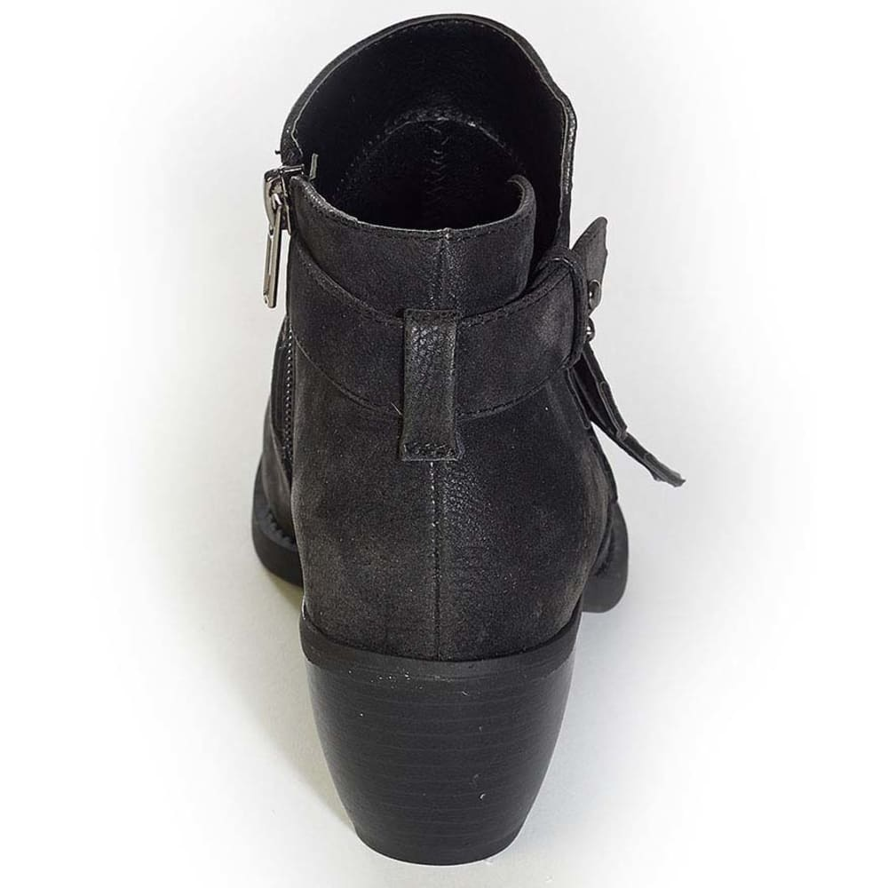 MADELINE Juniors' Daysie Strappy Ankle Boots - BLACK