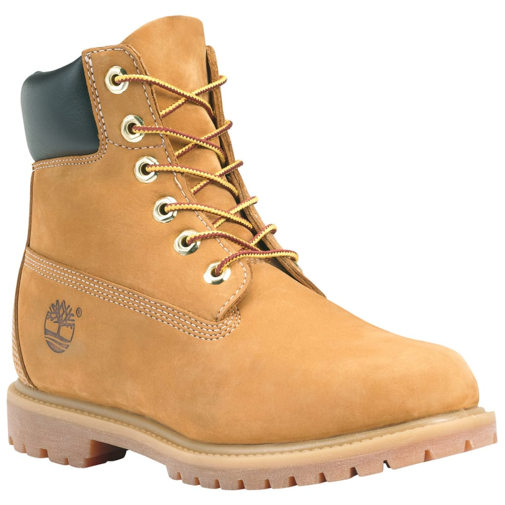 TIMBERLAND Women's 6 in. Premium Waterproof Boots - WHEAT