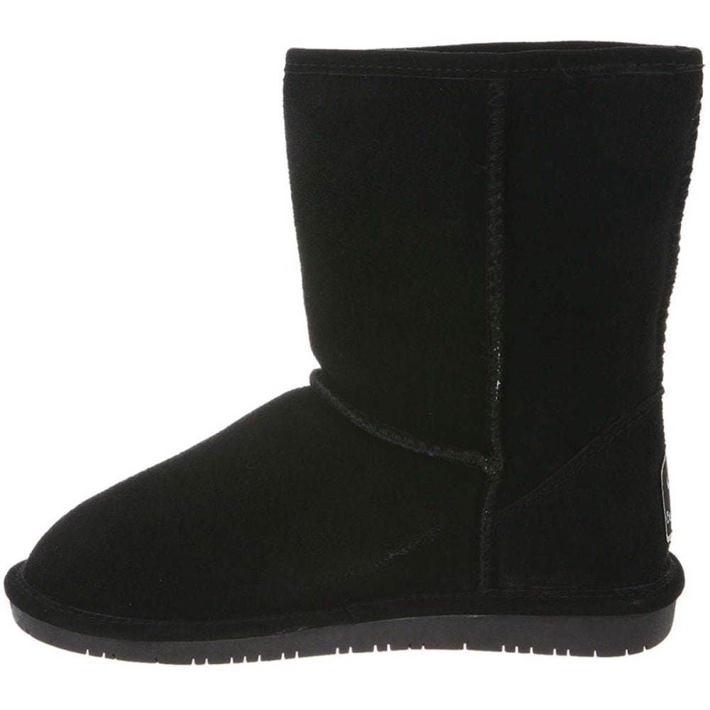"BEARPAW Juniors' Emma 8"" Boots - BLACK-011"