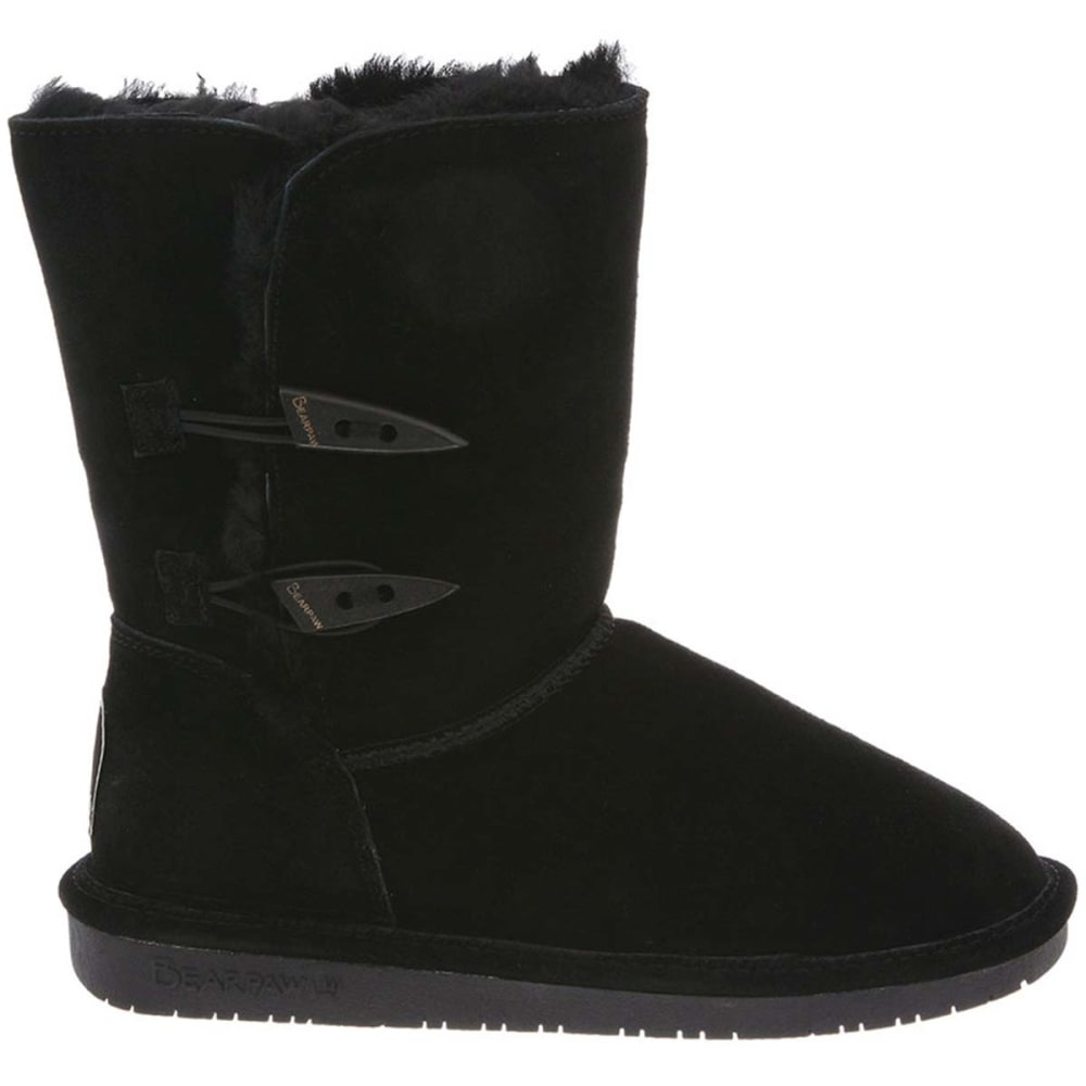 BEARPAW Juniors' Abigail Boots - BLACK-011