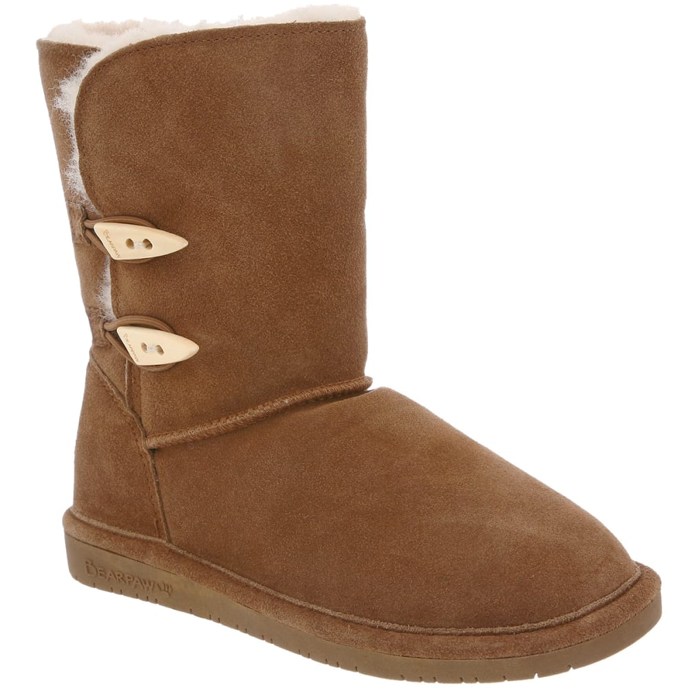 Bearpaw Juniors Abigail Boots - Brown, 10