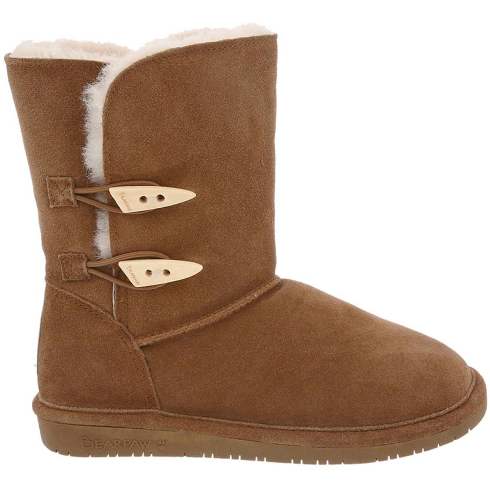 BEARPAW Juniors' Abigail Boots - HICKORY-220