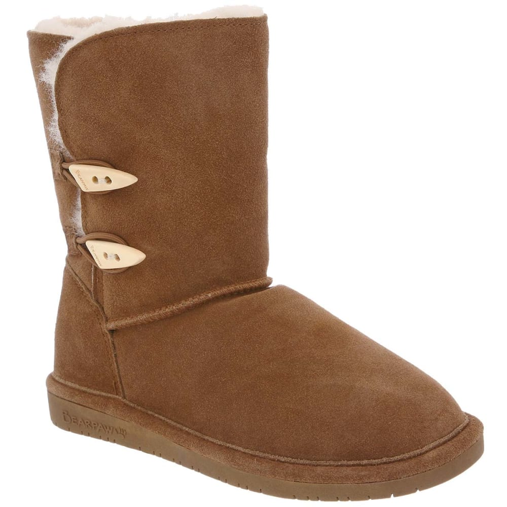 BEARPAW Juniors' Abigail Boots - HICKORY-220