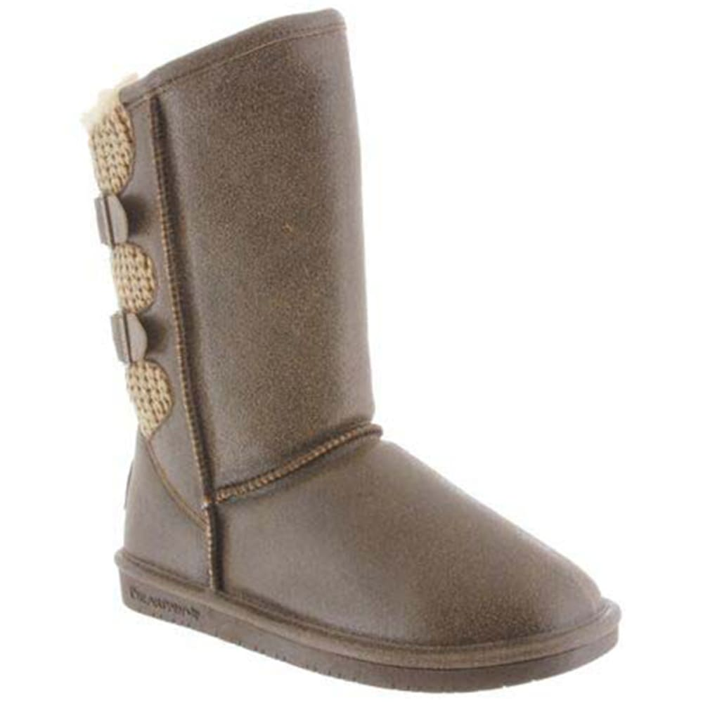 BEARPAW Women's Boshie Boot - CHESTNUT-221