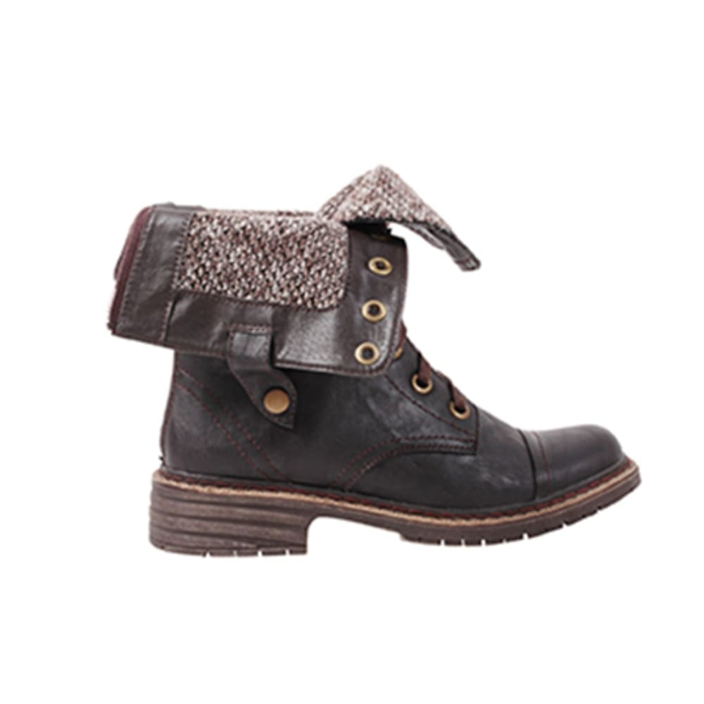 WANTED Women's Crowley Turn-Down Boots - BROWN