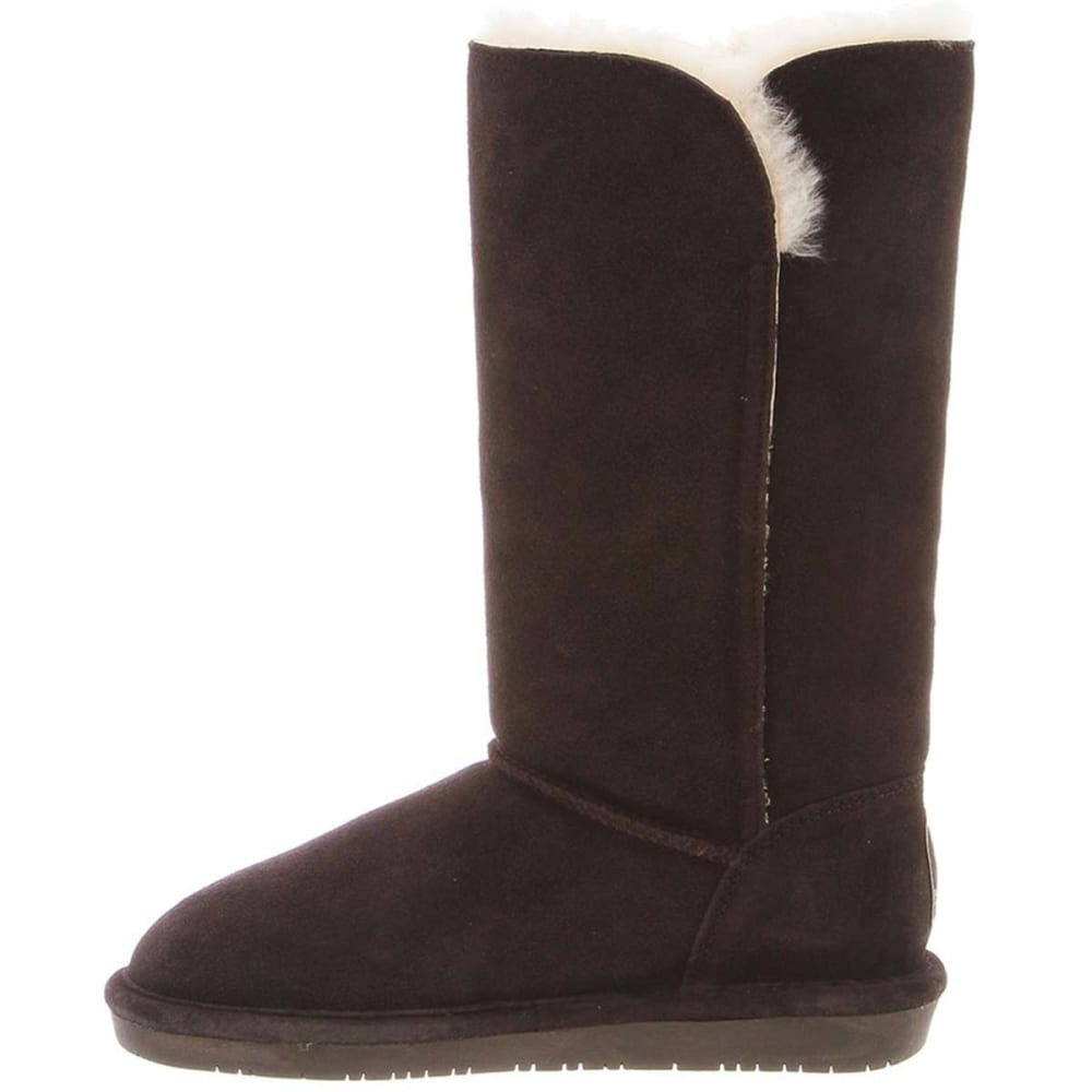 BEARPAW Juniors' Lauren 12 in. Boots - CHOCOLATE-205