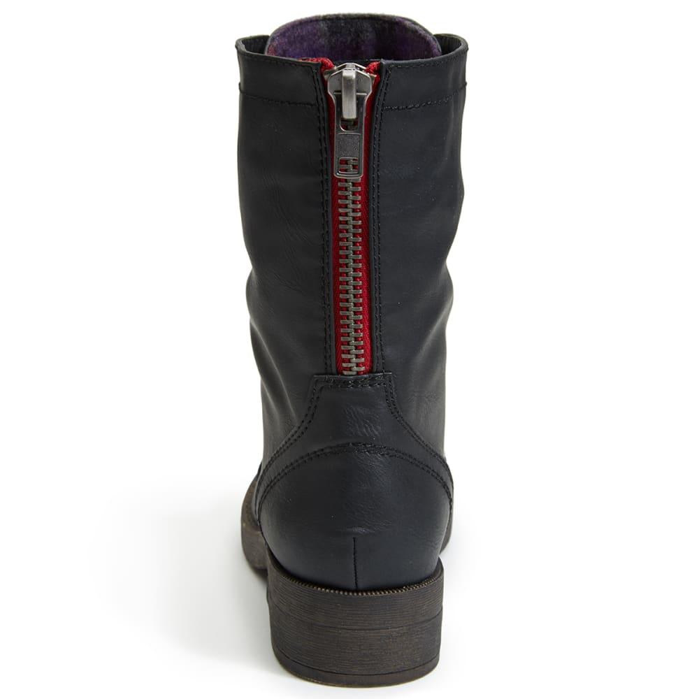 MADDEN GIRL Women's Mavinn Combat Boots - BLACK