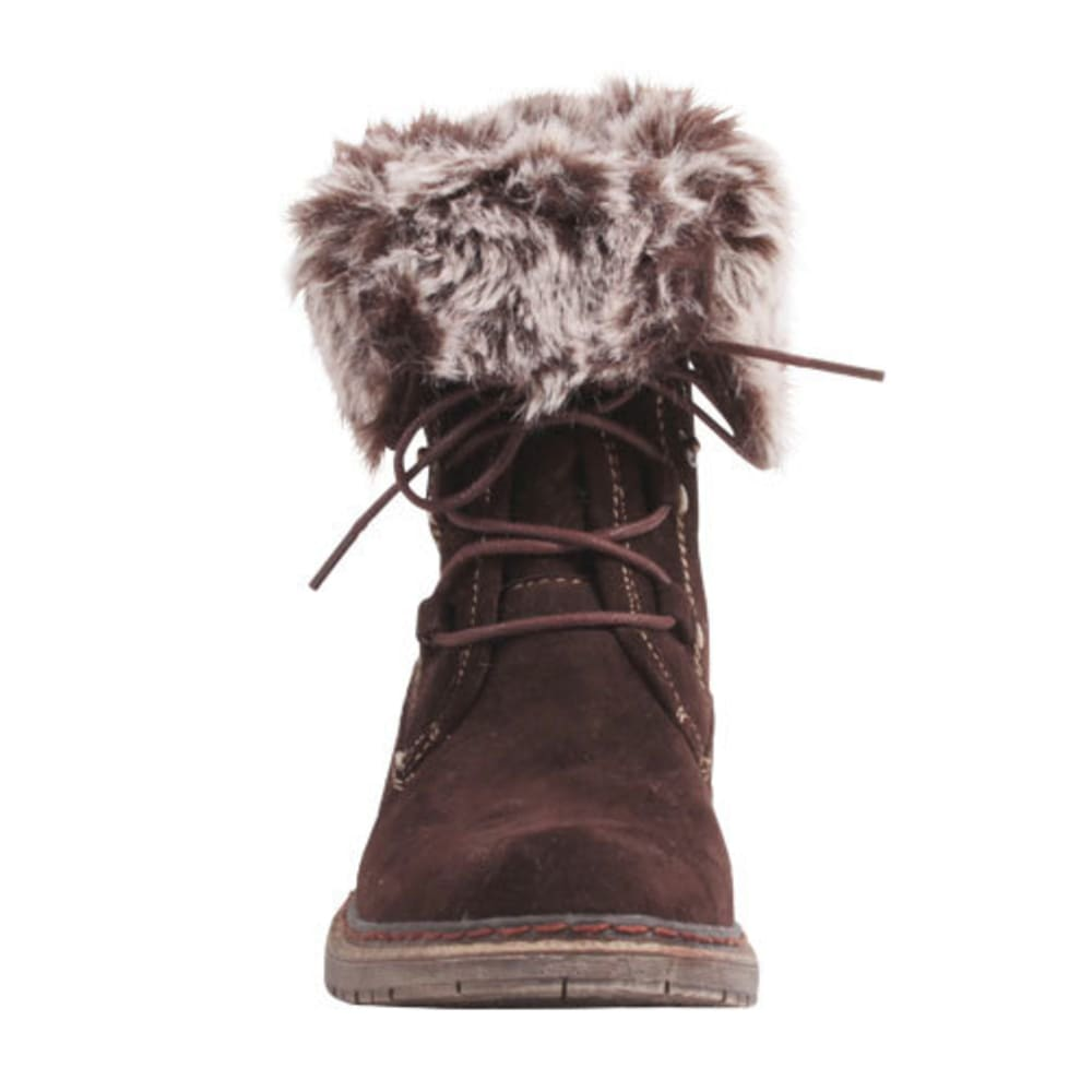 WANTED Women's Stout Boots - BROWN