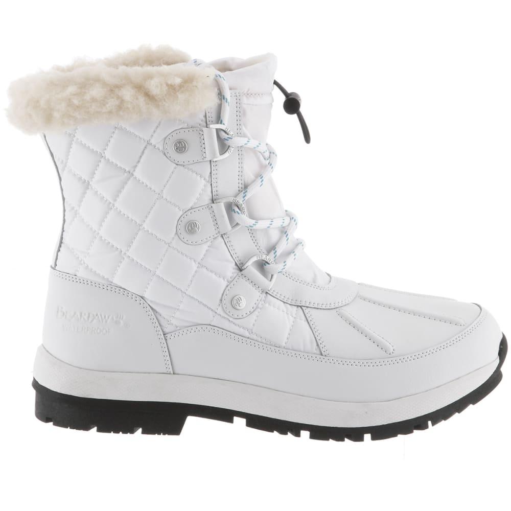 BEARPAW Women's Bethany Waterproof Boots - WHITE-010