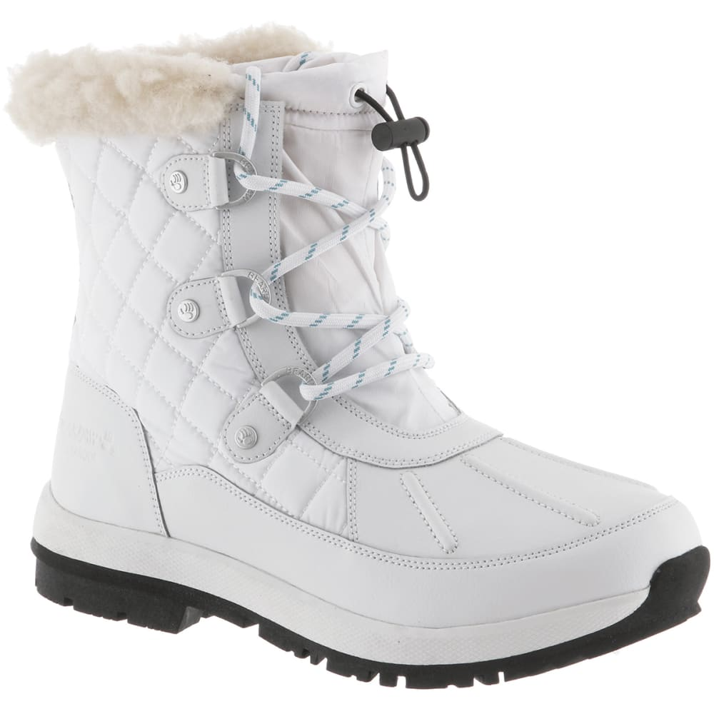 Bearpaw Women's Bethany Waterproof Boots - White, 6