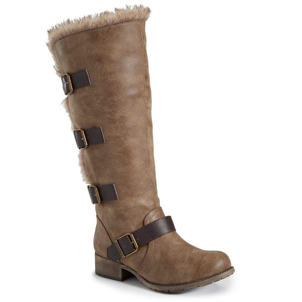 JELLYPOP Women's Oregon Boot - BROWN