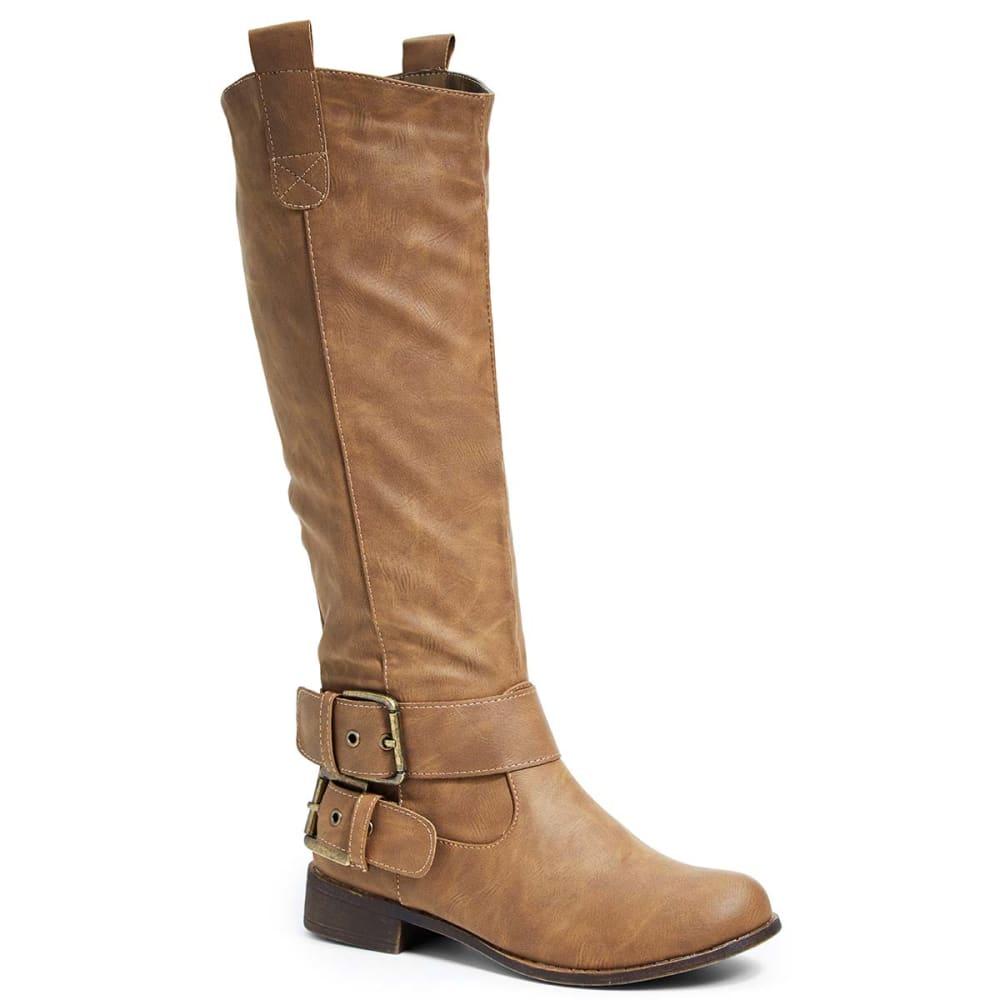 YOKI Women's Madden-50 Riding Boots - TAN