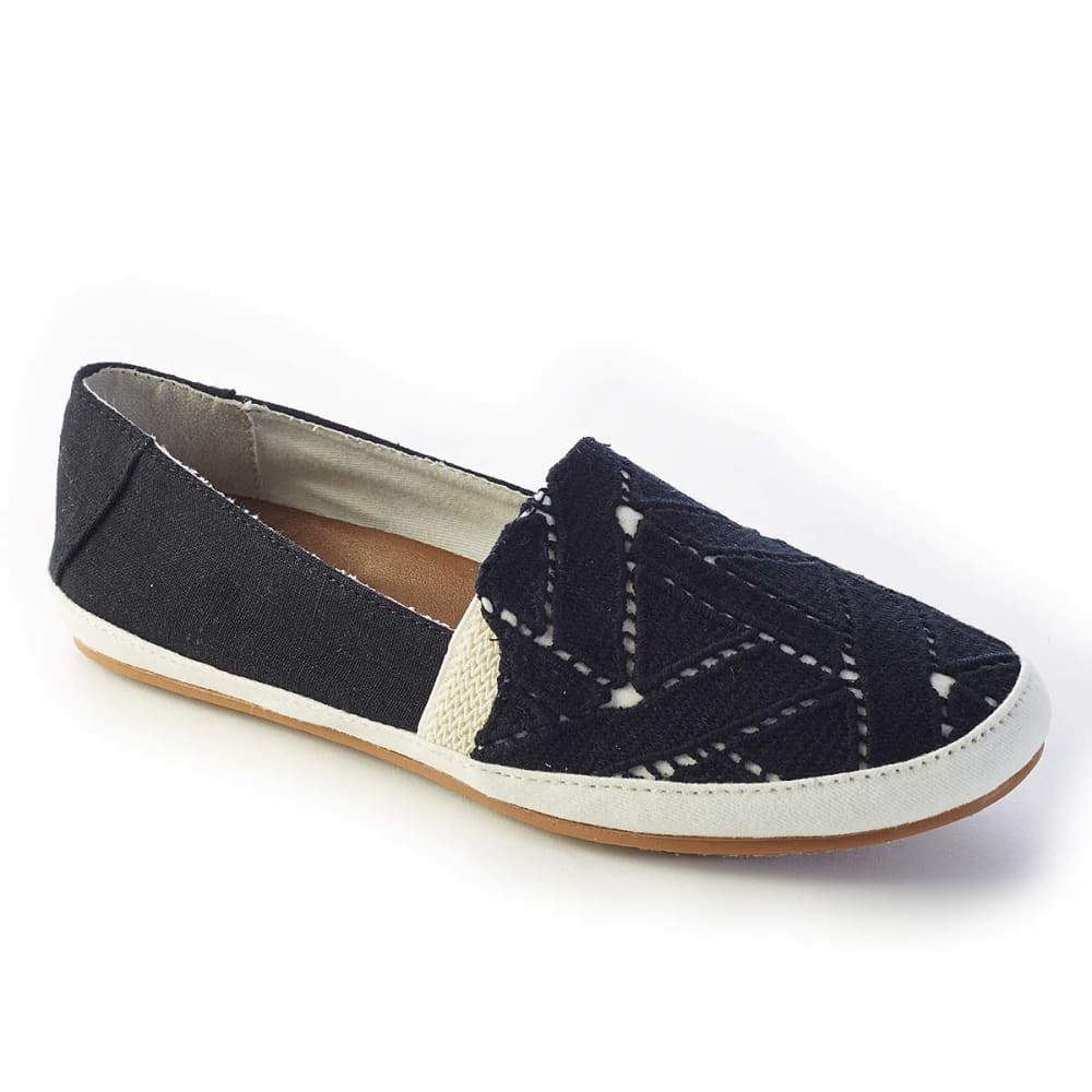 REEF Juniors' Shaded Summer TX Shoes - BLACK/WHITE