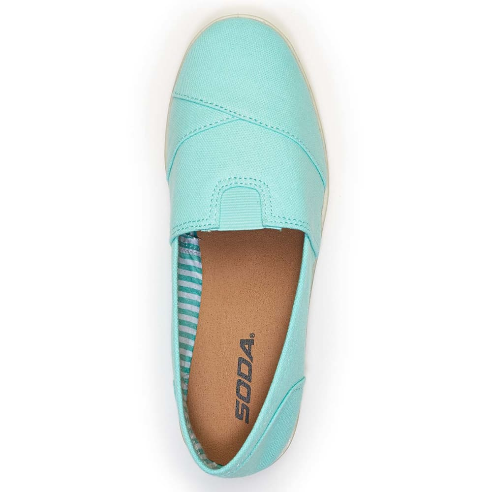 SODA Juniors' Object-S Canvas Shoes - TURQUOISE