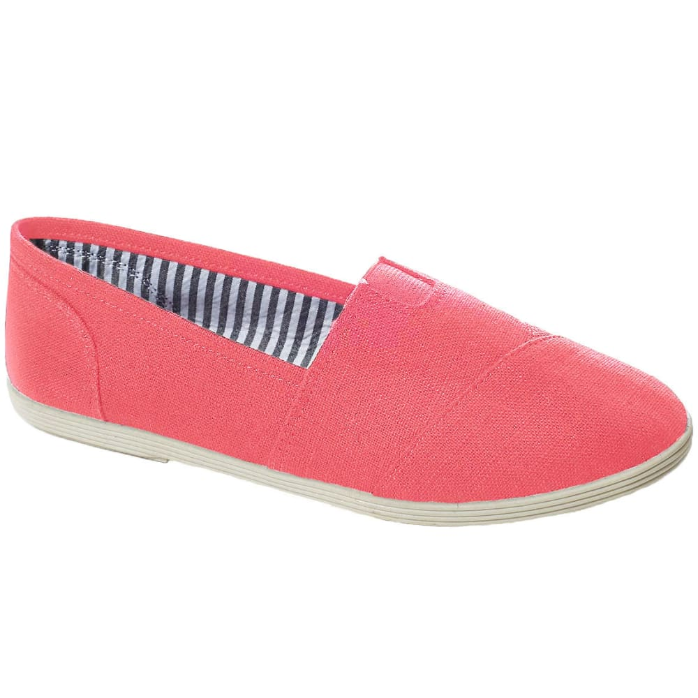 SODA Juniors' Object-S Canvas Shoes - LIGHT CORAL
