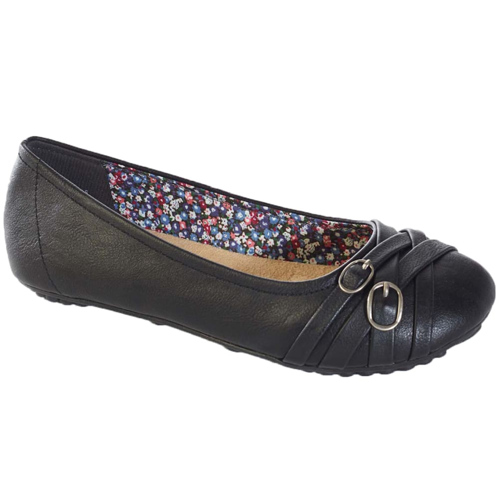 JELLYPOP Juniors' Express Ballet Flats - BLACK