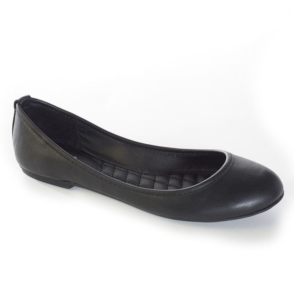 MIA 2 Junior's Ballerina Flats - BLACK