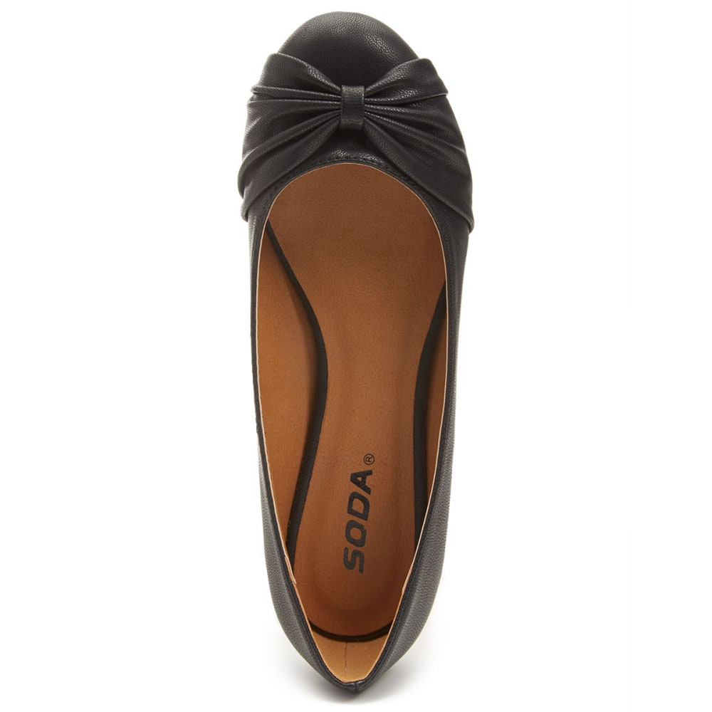 SODA Juniors' Aya Flats - BLACK