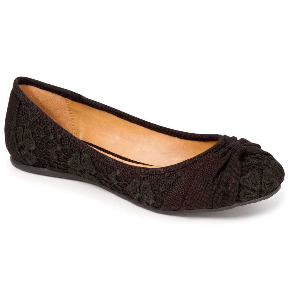 SODA Juniors' Grammy Flats - BLACK