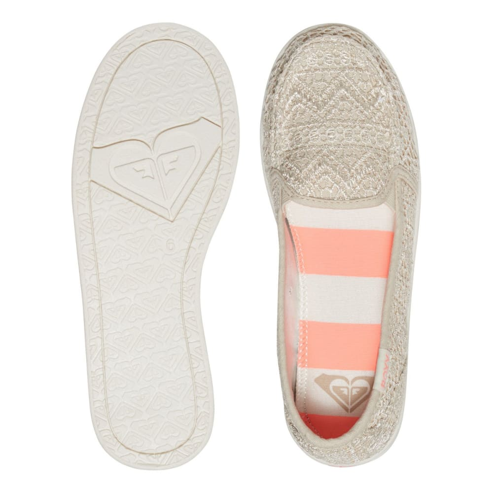 ROXY Women's Lido III Slip-On Shoes - SAND