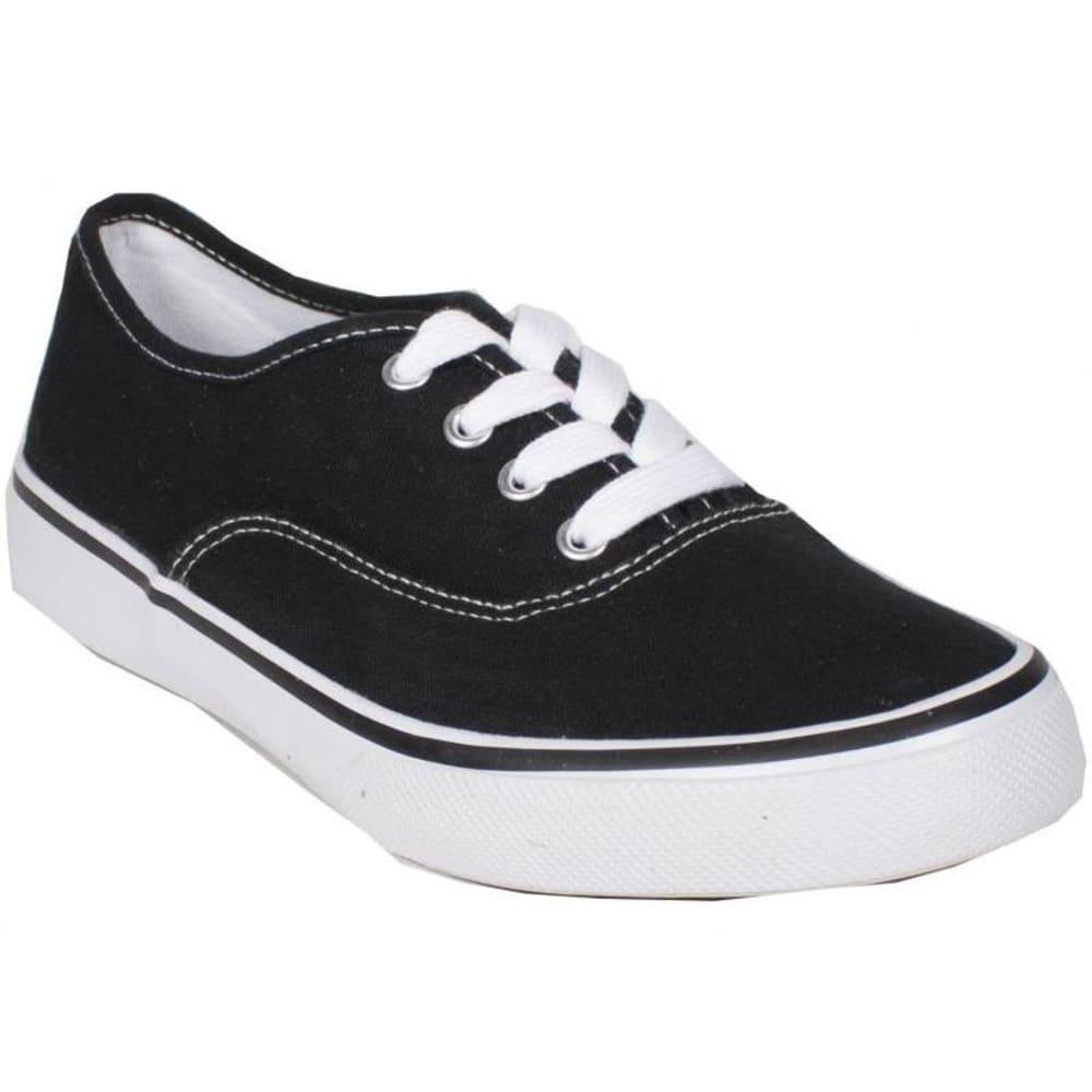 SODA Women's Ribbon Shoes - BLACK