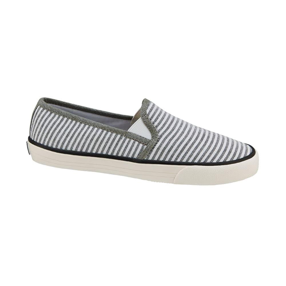 XOXO Juniors' Velma Slip-On Canvas Shoes - GREY/WHITE
