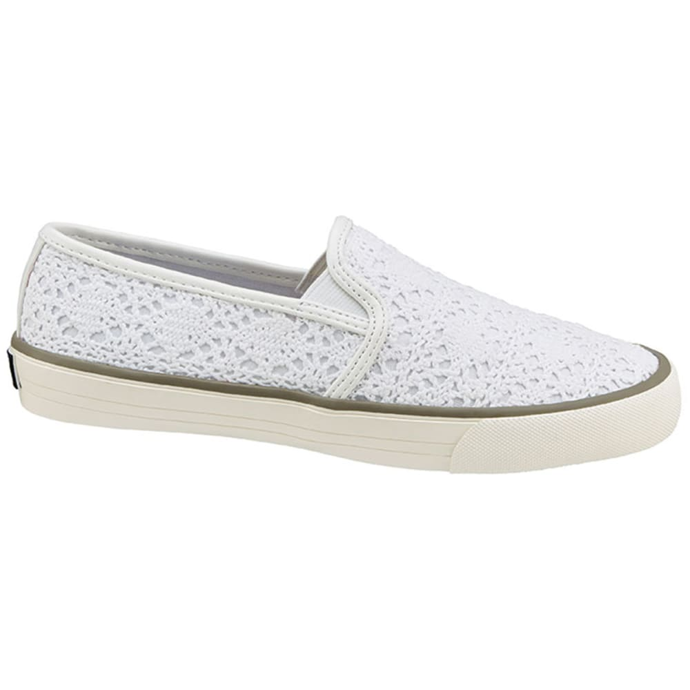 XOXO Juniors' Velma Slip-On Canvas Shoes - WHITE