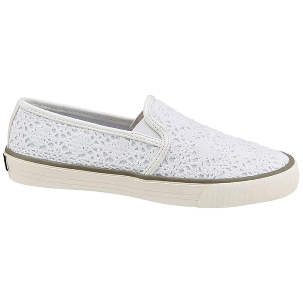 XOXO Juniors' Velma Slip-On Canvas Shoes - WHITE