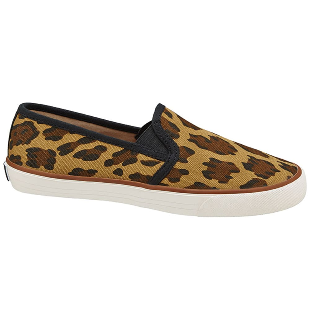 XOXO Juniors' Velma Slip-On Canvas Shoes - LEOPARD
