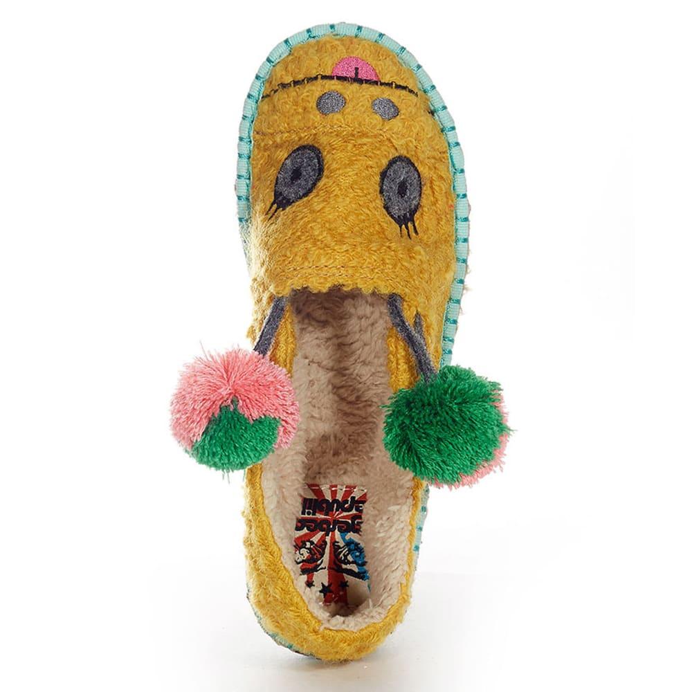 TIGERBEAR REPUBLIK Juniors' Girwaffle Lounge Shoes - YELLOW