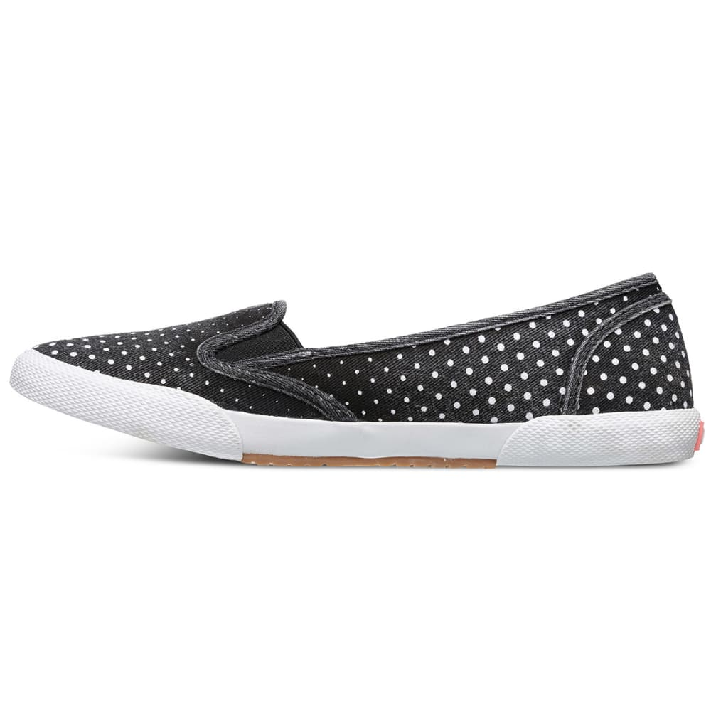 ROXY Juniors' Malibu Flats - BLACK/WHITE