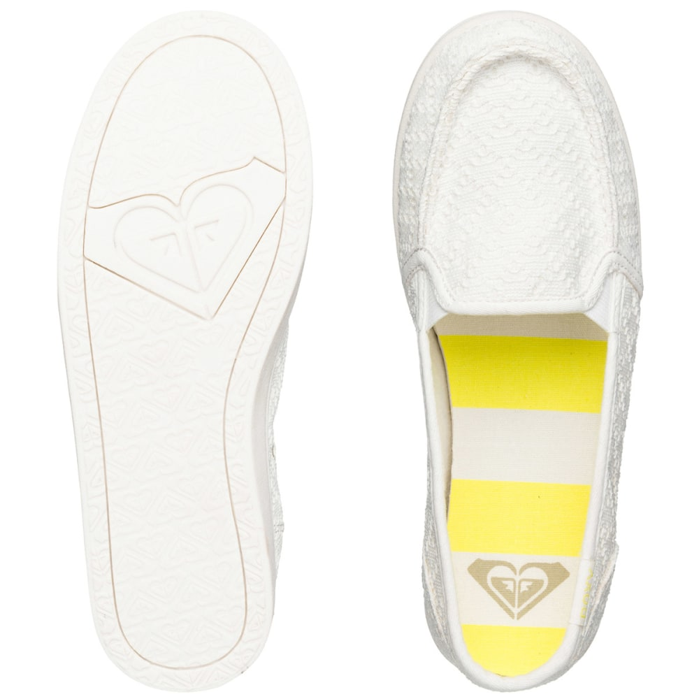 ROXY Juniors' Lido III Shoes - NATURAL