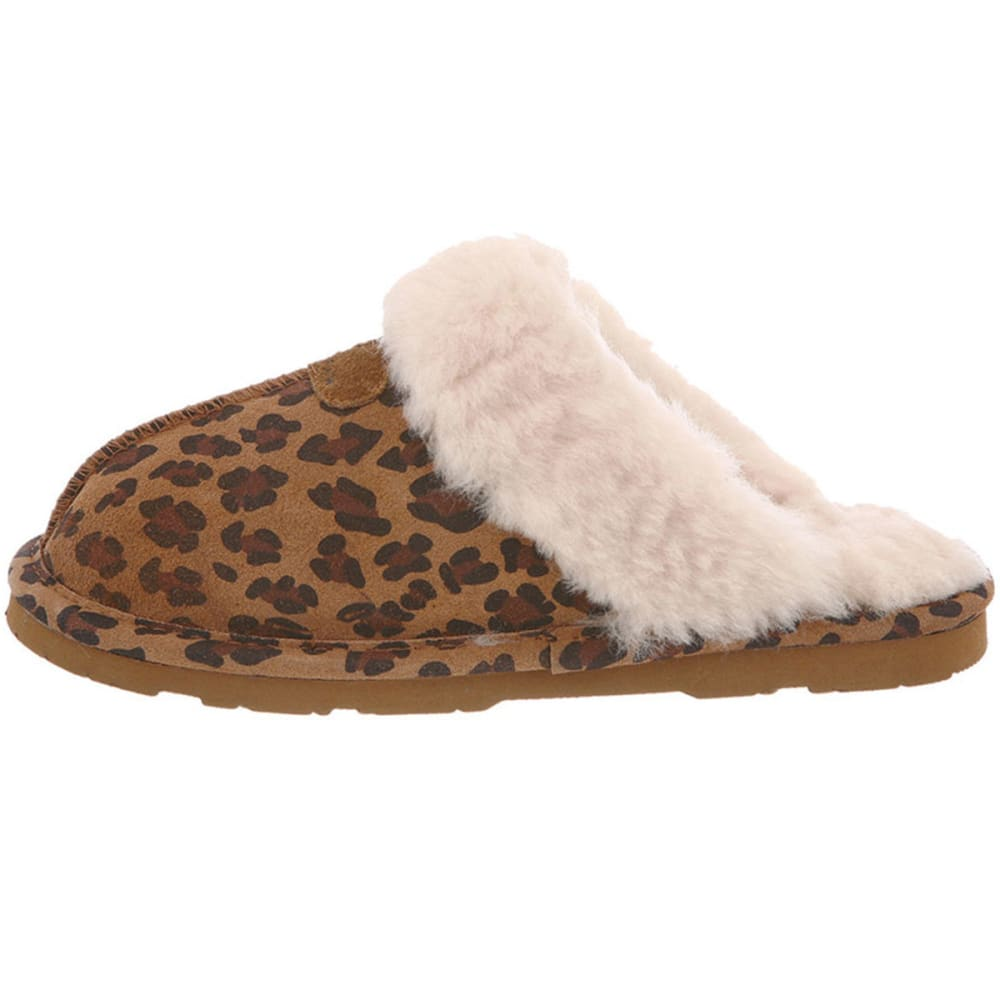 BEARPAW Women's Loki II Slippers - LEOPARD