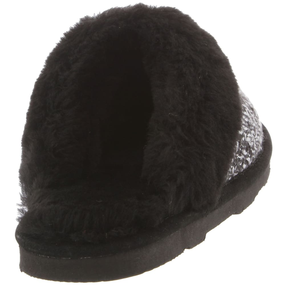 BEARPAW Women's Paulette Slippers - BLACK