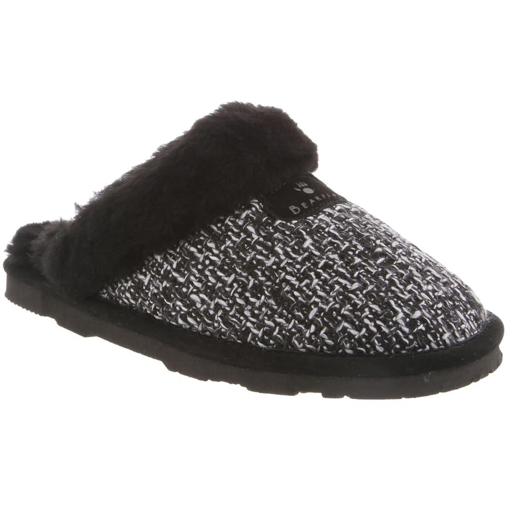 BEARPAW Women's Paulette Slippers - BLACK