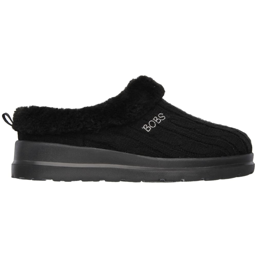 SKECHERS Juniors' Cherish Wonder-Fall Sweater Slip-On - BLACK
