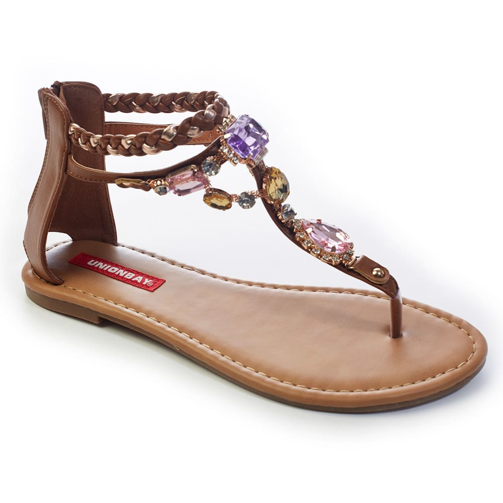 UNIONBAY Juniors' Evette Sandals - TAN