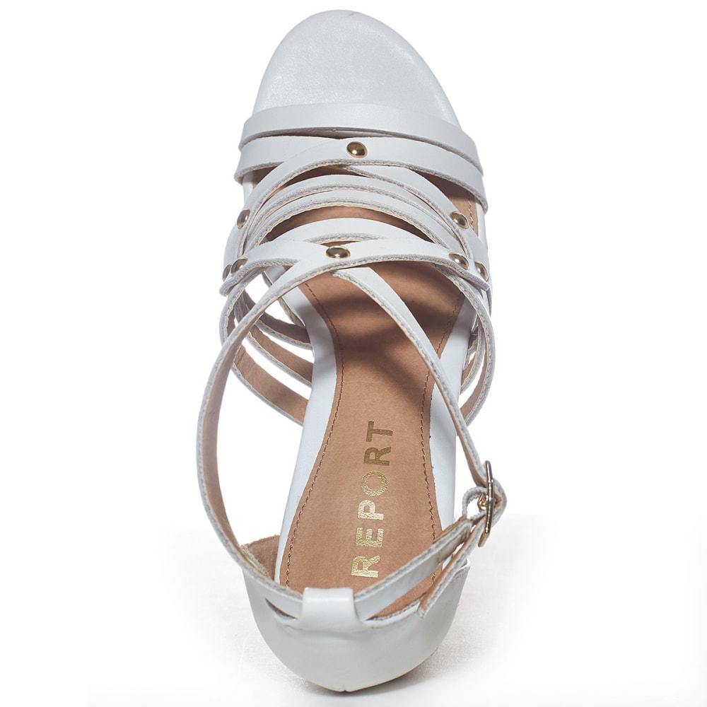 REPORT Juniors' Kellsie Espadrille Wedge Sandals - WHITE