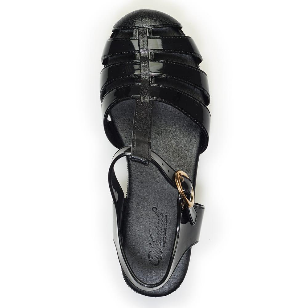 WANTED Juniors' Platform Sandals - BLACK
