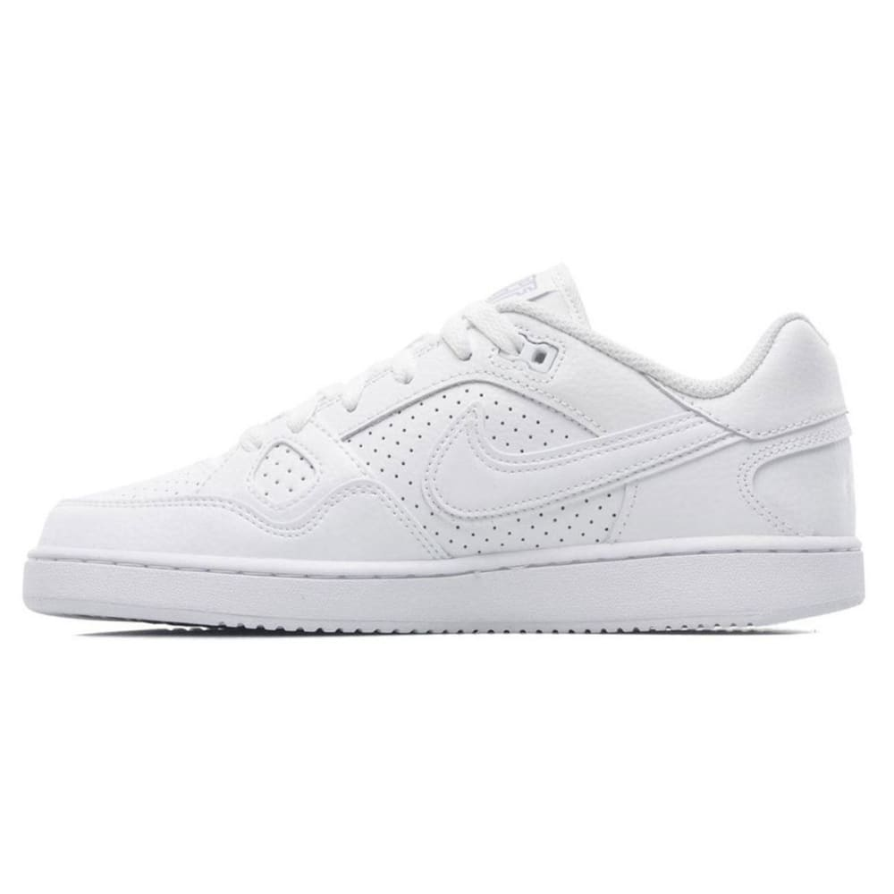 NIKE Men's Son of Force Low Sneakers - WHT/WHT LO