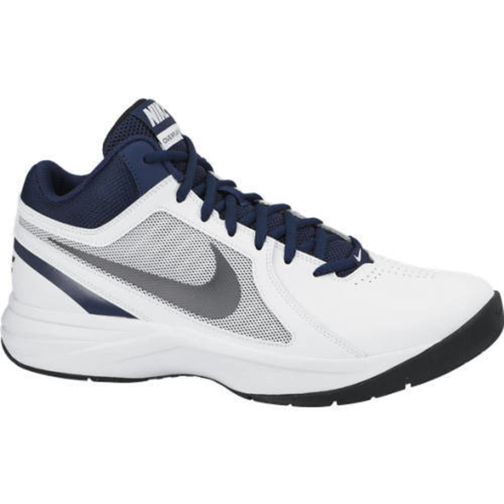 NIKE Men's The Overplay VIII Basketball Shoes - HEATHER STONE