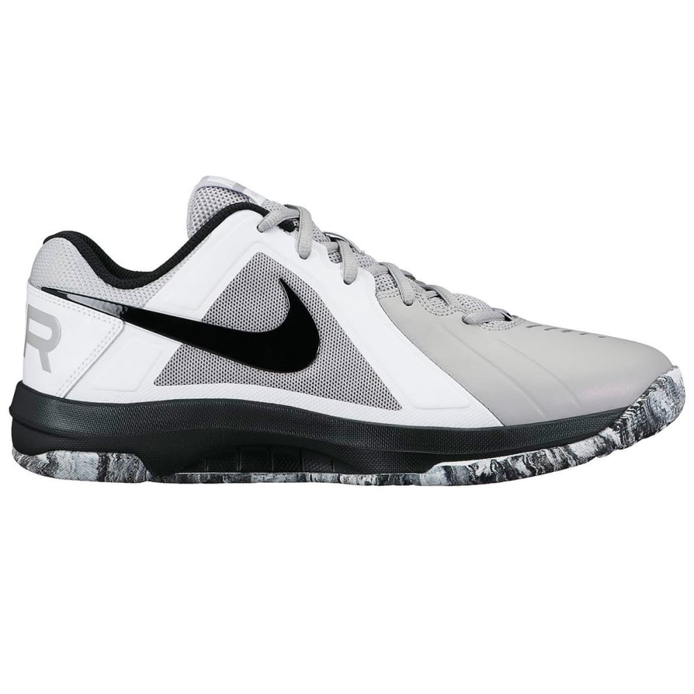 NIKE Men's Air Maven Low Basketball Shoes - WOLF GRY