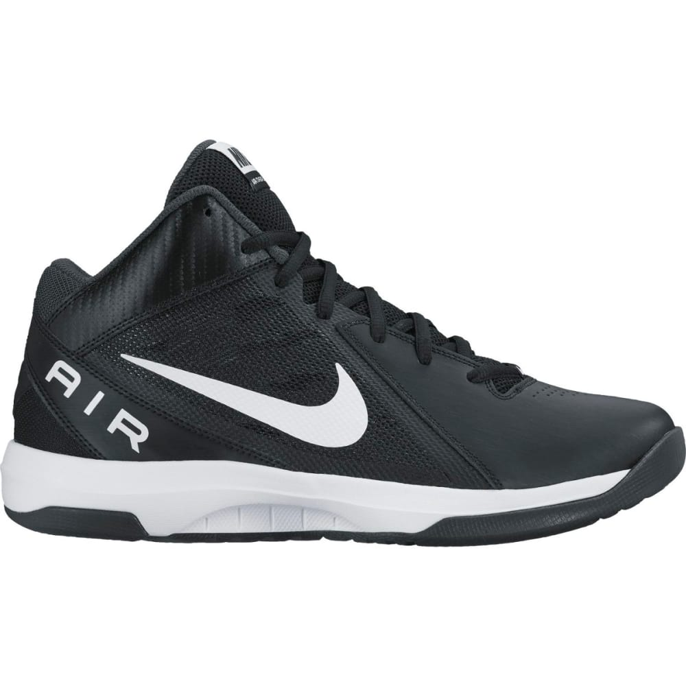 NIKE Men's The Air Overplay IX Basketball Shoes - BLACK